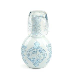 Moringa de Porcelana Elefante Indiano Azul 750 ml