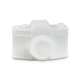 Luminária Câmera Fotográfica Branca