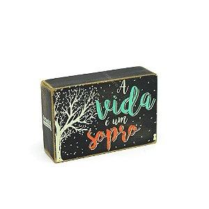 Quadro Box Vida Sopro 10x15
