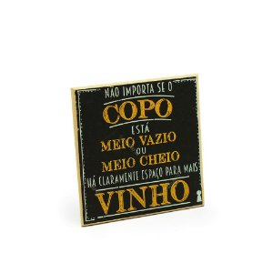 Imã Porta Copo - Copo de Vinho