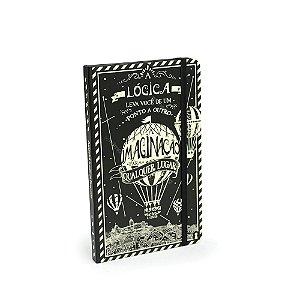 Caderno Criativo Com Elástico Imaginação