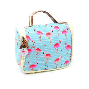 Necessaire Ganchinho Flamingo