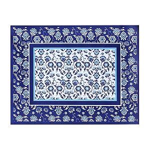 Jogo Americano Azulejos Portugueses Azul Individual