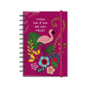 Agenda Diária Flamingo Média 2019