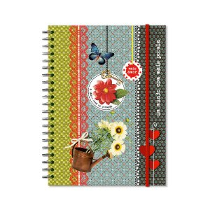 Caderno Universitário Poesia 100 folhas
