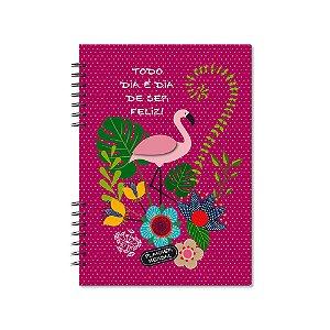 Planner Mensal Flamingo