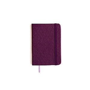 Caderneta sem Pauta Roxa Pequena