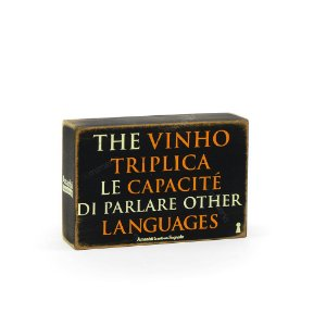 Quadro Box The Vinho Triplica 10x15