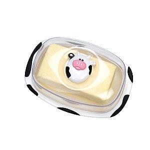 Manteigueira de Plástico Vaquinha Joie