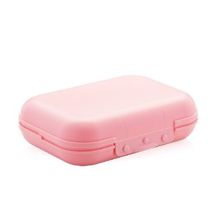 Sanduicheira de Plástico Marmitou Rosa