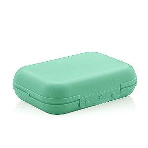 Sanduicheira de Plástico Marmitou Verde Menta