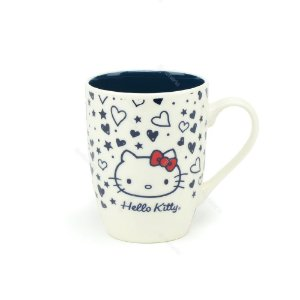 Caneca de Porcelana Hello Kitty Love