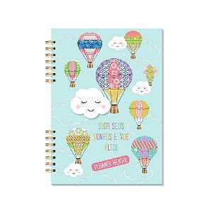 Planner Mensal Nuvem e Balão