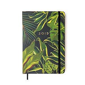 Agenda Diária Floresta Tropical Folhagem Média 2019