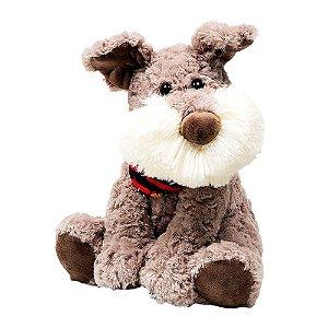 Cachorro Barbudo de Pelúcia