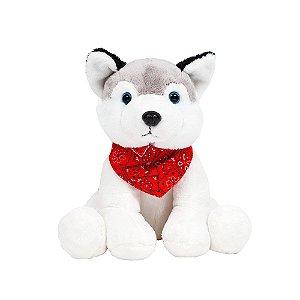 Cachorro de Pelúcia Husky Fashion