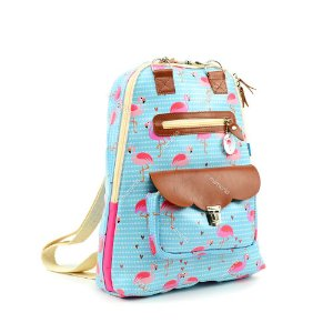 Mochila para Notebook Estampada Flamingo