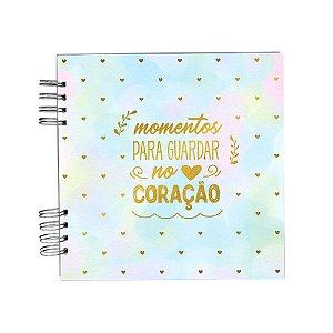 Álbum de Recordações Momentos Candy Color Pequeno