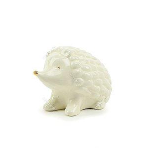 Porco Espinho Decorativo em Cerâmica Grande