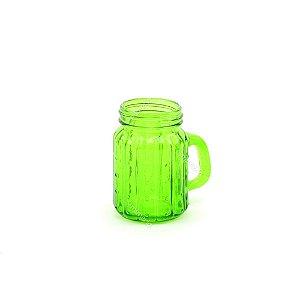 Mini Copo de Vidro Cactos Verde