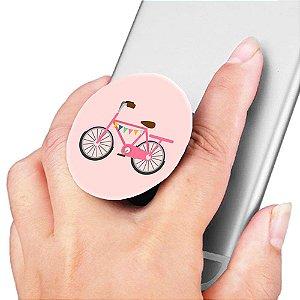 Pop Socket para Celular Viagens Bicicleta