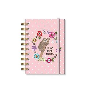 Caderneta Estampada Bicho-Preguiça