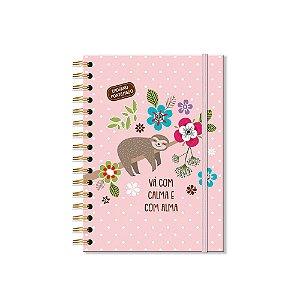 Caderno Pontilhado Bicho-Preguiça