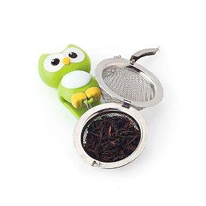 Infusor de Chá Corujinha Verde Joie