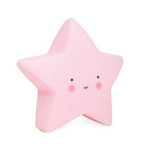 Luminária Estrela Rosa Baby