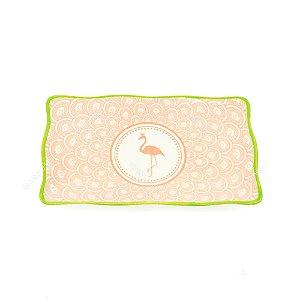 Petisqueira em Cerâmica Flamingo Rosa