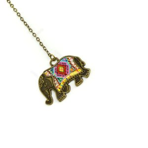 Marcador de Página Metal Color Elefante