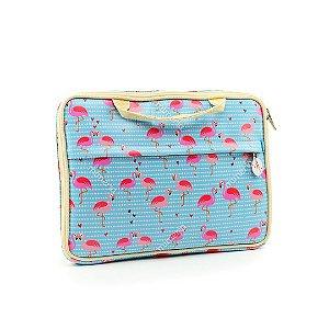 """Case Estampado para Notebook 15,6"""" Flamingo"""