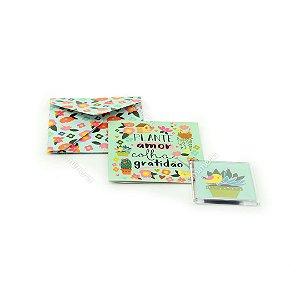 Kit Imã e Cartão Jardim