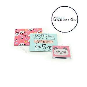 Kit Imã e Cartão Panda