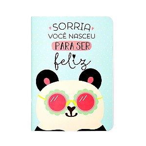 Caderno Pontado Panda