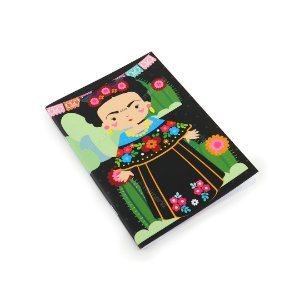 Caderno Pontado Frida Color