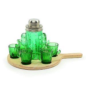 Kit Coquetel com 8 Peças Cactus