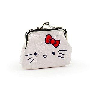 Porta Moedas Hello Kitty Branco