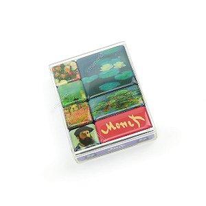 Kit Imãs Decorados Monet