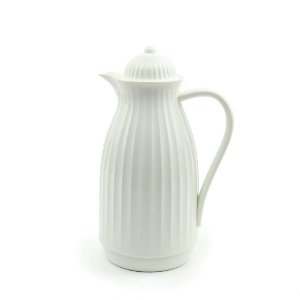 Garrafa Térmica Vintage Branca