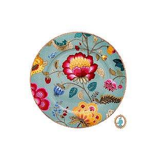 Prato Sousplat Azul Floral Fantasy Pip Studio