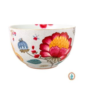 Tigela 23 Branco Floral Fantasy Pip Studio