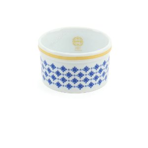 Comedouro de Porcelana com Suporte Colonial Médio