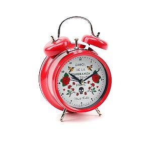 Relógio Despertador Frida Kahlo Esperanza