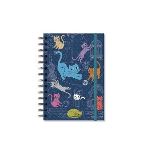 Caderno Médio Decorado Gatinhos