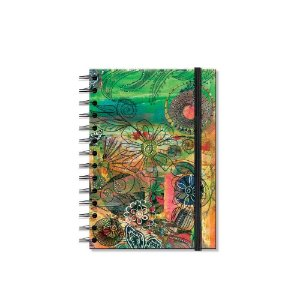 Caderno Médio Decorado Maravilha