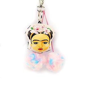 Chaveiro Almofada Frida Kahlo Fridinha