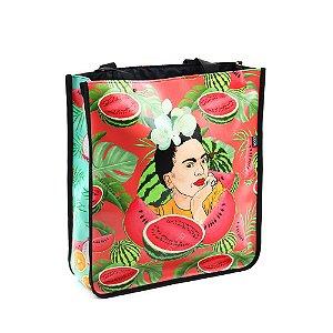Bolsa Sacola Bag Frida Kahlo Pitaia e Melancia