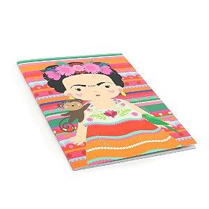 Planner Mensal Frida Colores