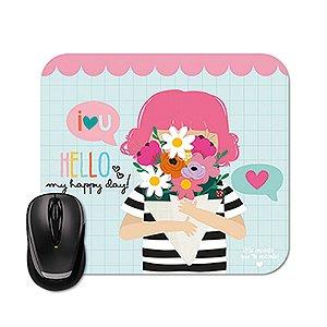 Mouse Pad Happy Buquê
